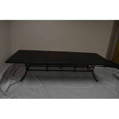 Nola Dining Table Table Size: 120 L x 46 W