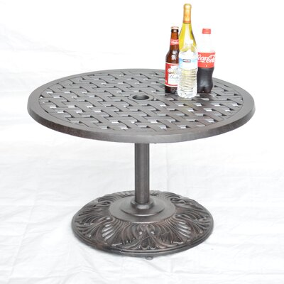 Nola Side Table Table Size: 21 L x 21 W