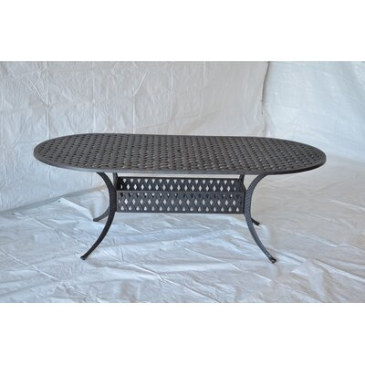 Nola Dining Table Table Size: 84 L x 42 W