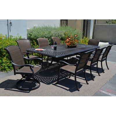 Adela 11 Piece Dining Set