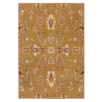 Leesville Traditional Design Area Rug Rug Size: 92 x 126