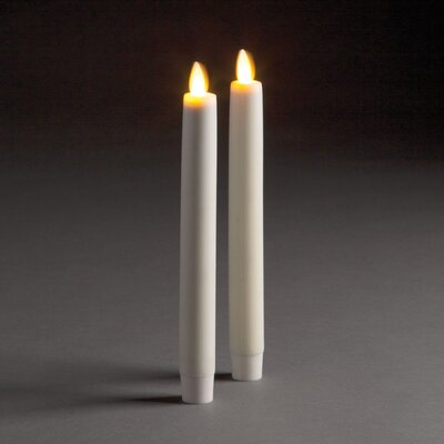 Flameless Taper Candle