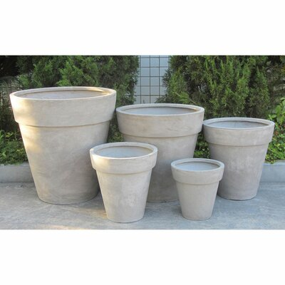 Valenzano 5-Piece Pot Planter Set