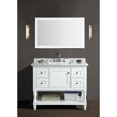 42 Single Bathroom Vanity Set with Mirror