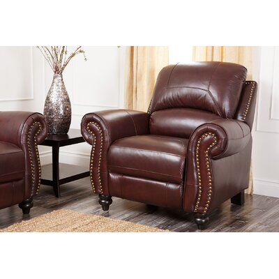 Kahle Leather Manual Recliner