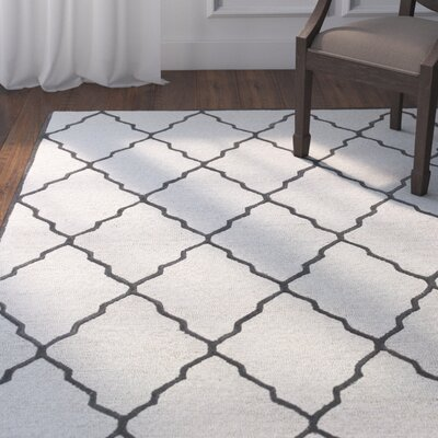 Ambleside Hand-Tufted Ivory/Platinum Area Rug