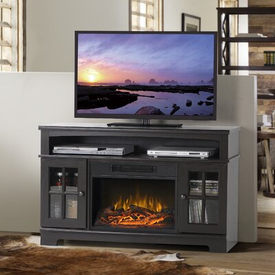 Edna TV Stand with Electric Fireplace Finish: Espresso