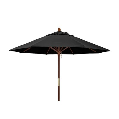 Fretwell 9' Wood Market Umbrella