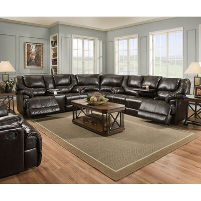Darby Home Co DBYH3484 Simmons Upholstery Starr Motion Reclining Sofa Type