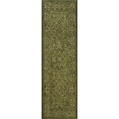 Langleyville Black/Cream Indoor/Outdoor Area Rug Rug Size: 2 x 36