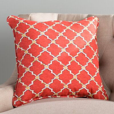 Maynes Outdoor Throw Pillow Size: 18 H x 18 W