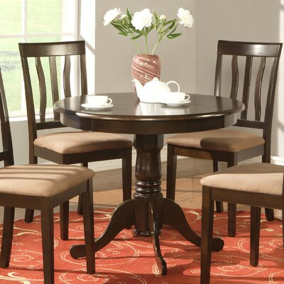 Caledonia Dining Table Finish: Cappuccino