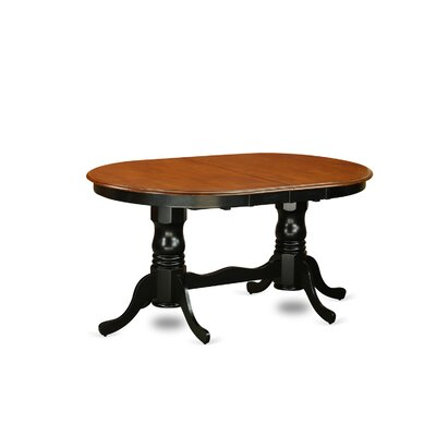 Germantown 9 Piece Dining Set Finish: Black and Cherry
