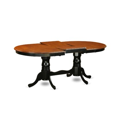Germantown 7 Piece Dining Set Finish: Black and Cherry