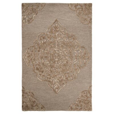 Chaffee Brown Area Rug Rug Size: 5 x 8
