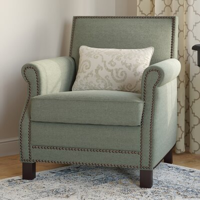 Duggins Arm Chair Upholstery: Seamist