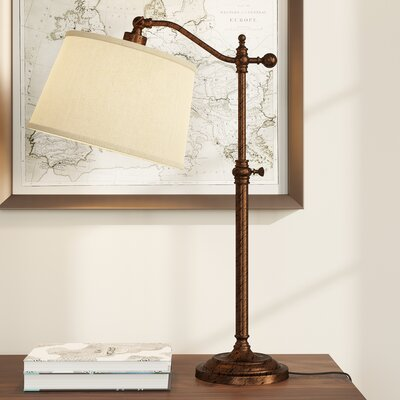 Gwendolyn 28 Table Lamp Finish: Rust