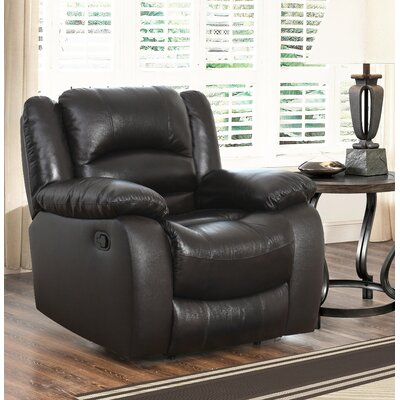 Jorgensen Leather Manual Recliner