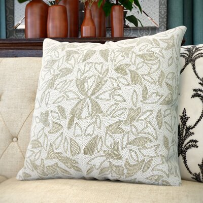 Crumbley Throw Pillow Color: Silver