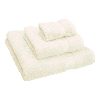 Hamden 3 Piece Towel Set Color: Cream