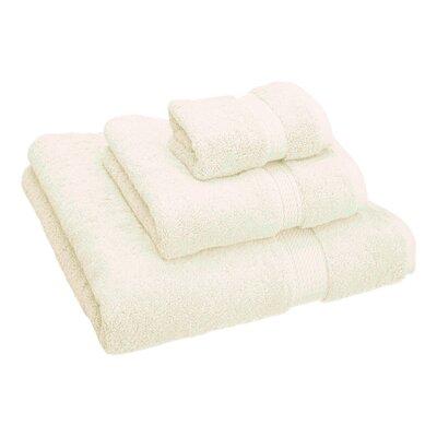 Hamden 3 Piece Towel Set Color: Cream