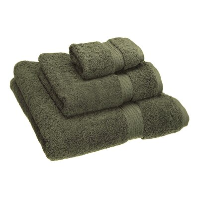 Hamden 3 Piece Towel Set Color: Forest Green