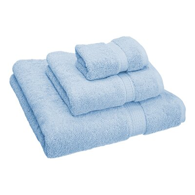 Hamden 3 Piece Towel Set Color: Light Blue