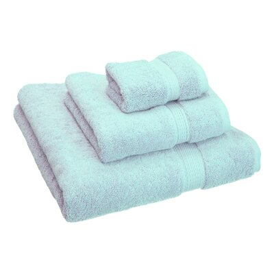 Hamden 3 Piece Towel Set Color: Sea Foam