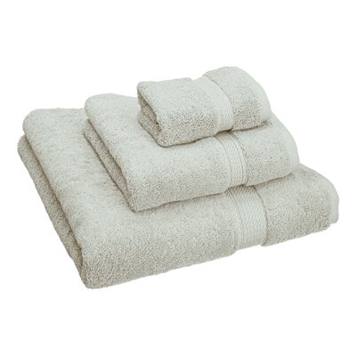 Hamden 3 Piece Towel Set Color: Stone
