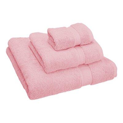Hamden 3 Piece Towel Set Color: Tea Rose