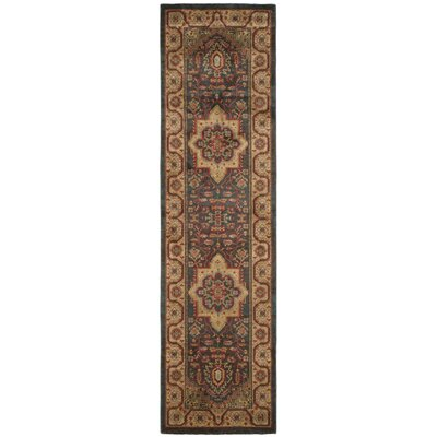Alto Navy/Natural Area Rug Rug Size: Runner 22 x 12