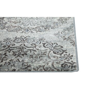 Beecroft Grey-Blue/Chocolate Rug Size: 710 x 112