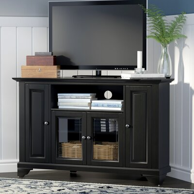 Mcvey 48 TV Stand Color: Black
