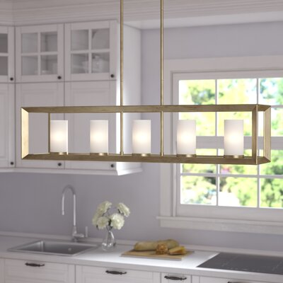 Ginsberg 5-Light Kitchen Island Pendant