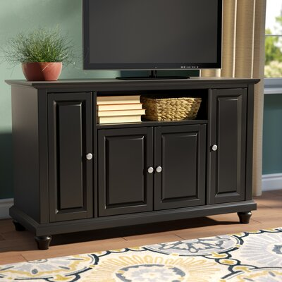 Riffe 48 TV Stand Color: Black
