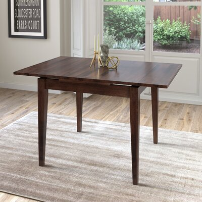 Wallace Extendable Dining Table Finish: Cappuccino