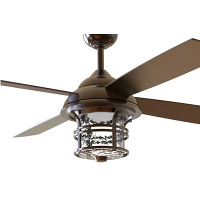 """56"""" Concetta 4 Blade Outdoor Ceiling Fan with Remote DABY4080 39062749"""