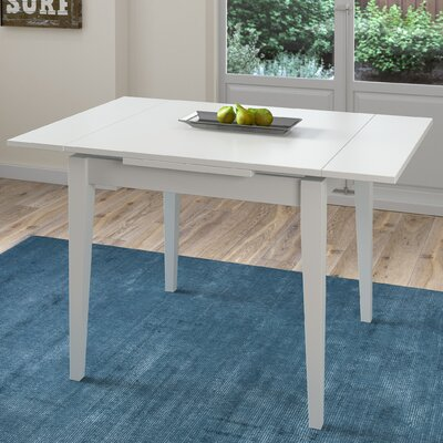 Wallace Extendable Dining Table Finish: White