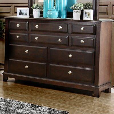 Daleville 10 Drawer Standard Dresser