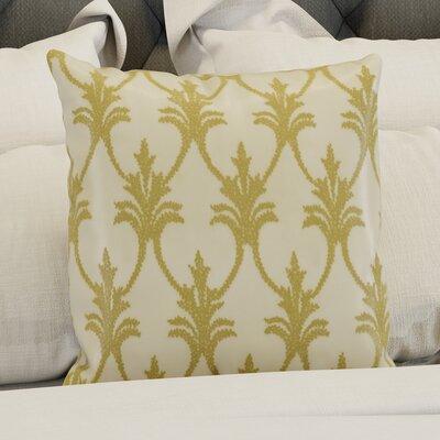 Hutcherson Throw Pillow Color: Light Gold