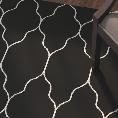 Moreton Black/Light Gray Area Rug