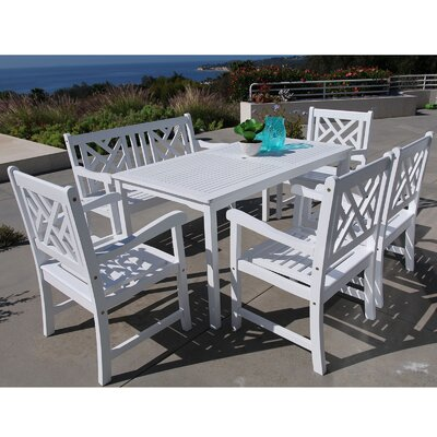 Mahler 6 Piece Dining Set