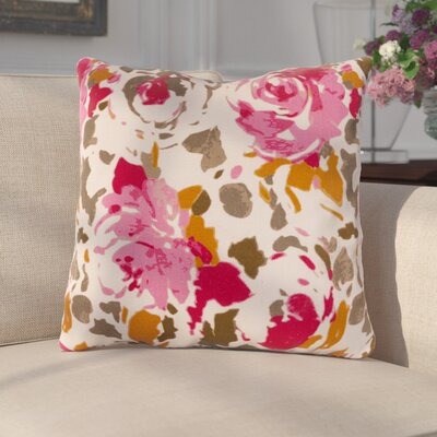 Paulding Throw Pillow Size: 20 H x 20 W x 4 D, Color: Red/Pink