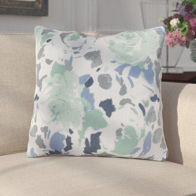 Paulding Throw Pillow Size: 22 H x 22 W x 4 D, Color: Blue/Green