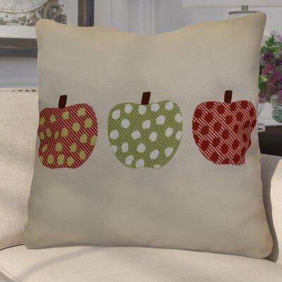 Leesville 3 Little Pumpkins Geometric Euro Pillow Color: Green