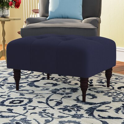 Fairmount Cocktail Ottoman Color: Regal Navy