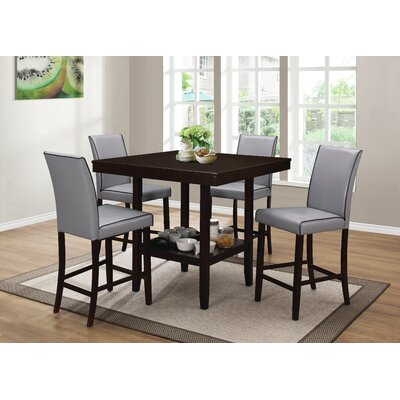 Dewart 5 Piece Counter Height Dining Set