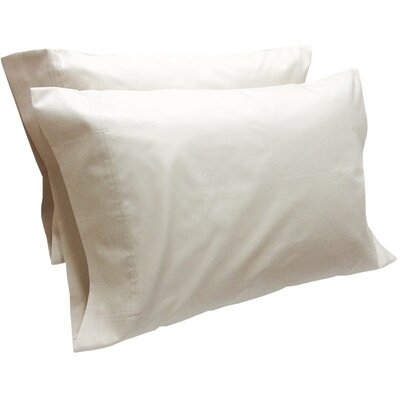 Cashwell Conventional Pillow Case Color: Shell