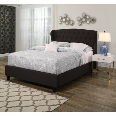Joann Tufted Upholstered Panel Bed Size: Queen