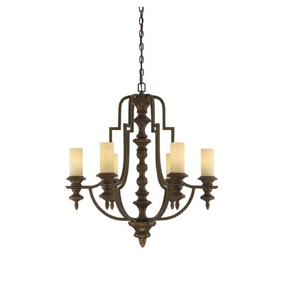 Bayford 6-Light Candle-Style Chandelier